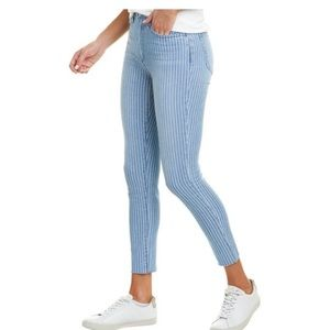 Joe's Jeans Women's Striped High-rise Ankle Denim
